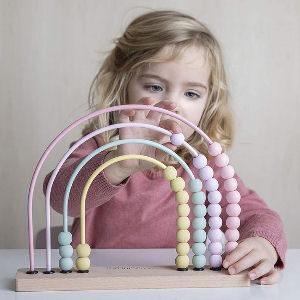 Ábaco multicolor para niños juguete educativo