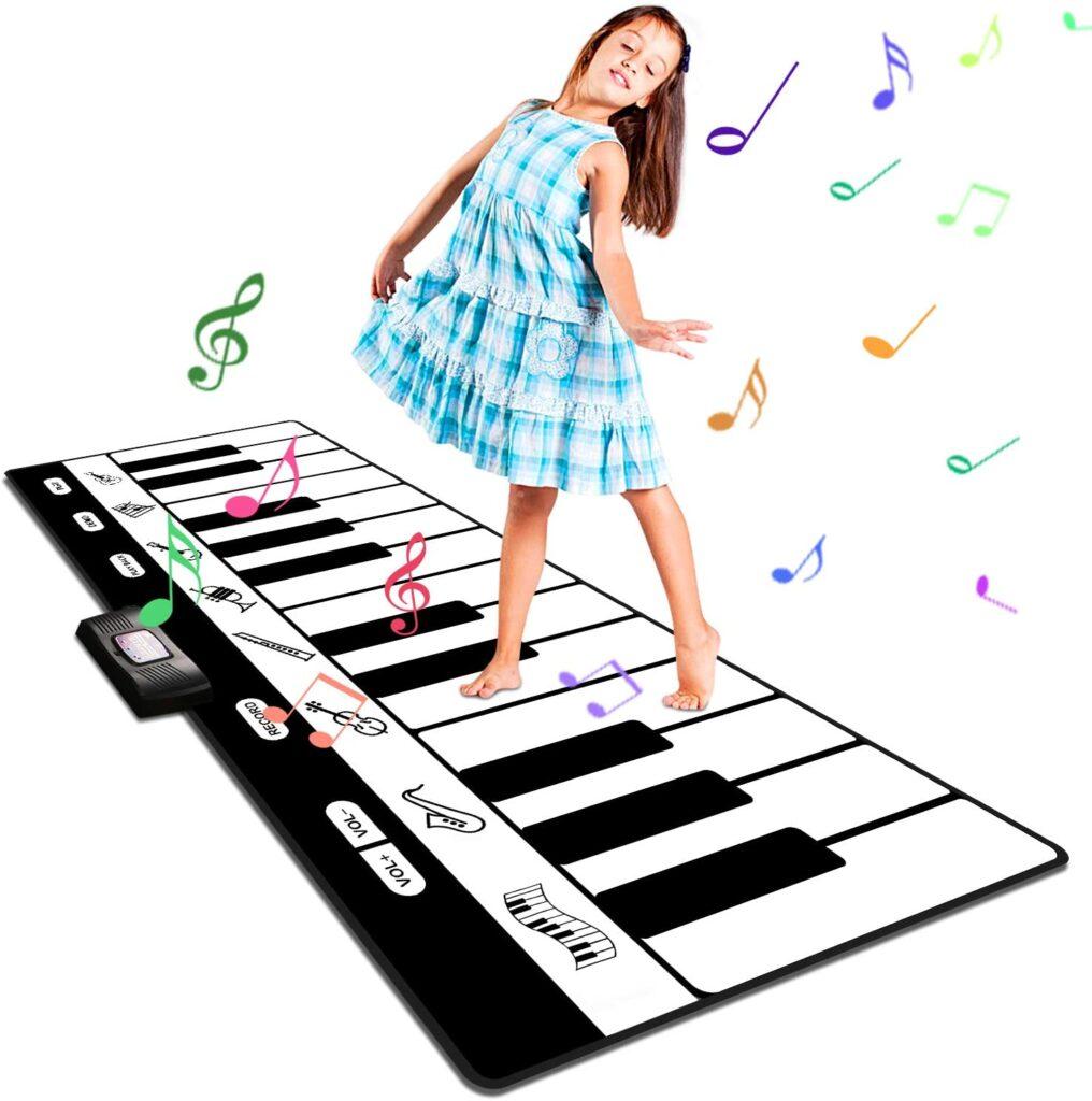 Alfombra de piano para niños y niñas