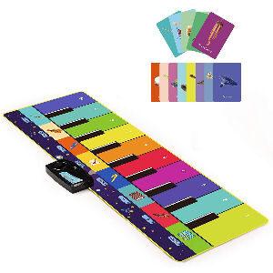 Alfombra musical de piano para niños
