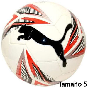 Balón Puma para niños rojo tamaño 5