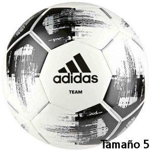 Balón de fútbol Adidas blanco y negro tamaño 5