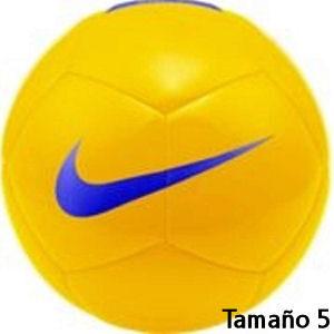 Balón de fútbol Nike amarillo tamaño 5