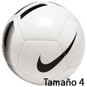 Balón de fútbol Nike blanco tamaño 4