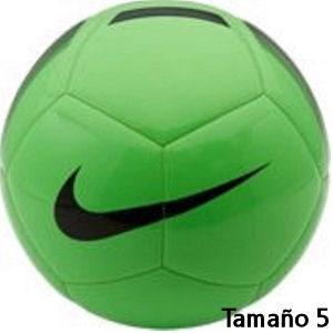 Balón de fútbol Nike verde tamaño 5
