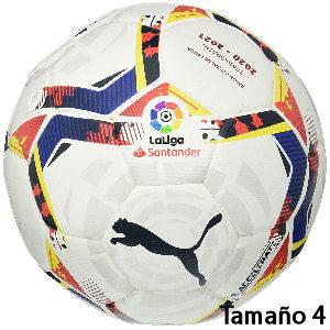 Balón de fútbol Puma liga 2020 21 tamaño 4, balón oficial de la Liga Española de Fútbol