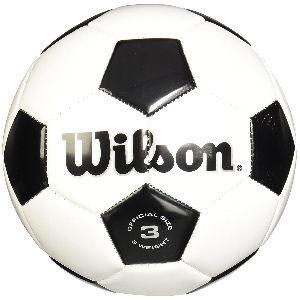 Balón de fútbol Wilson diseño clásico tradicional