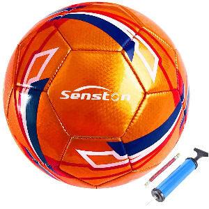 Balón de futbol inflador para niños