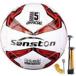 Balón de futbol talla 5 para niños con inflador