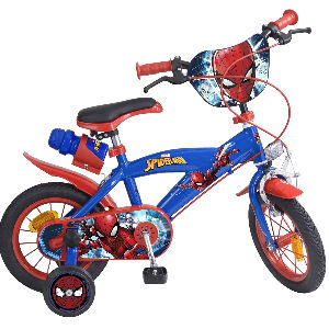 Bici Spiderman para niños, bicicleta con ruedas