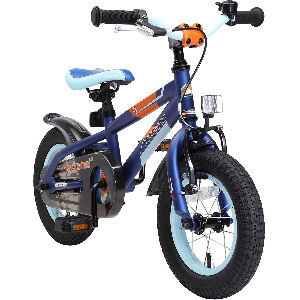 Bici azul para niños