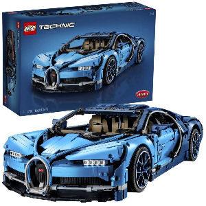 Bugatti Chiron de LEGO para coleccionistas adultos