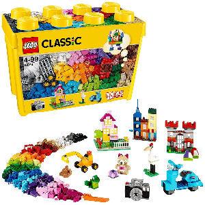 Caja de construcciones LEGO con piezas de 32 colores