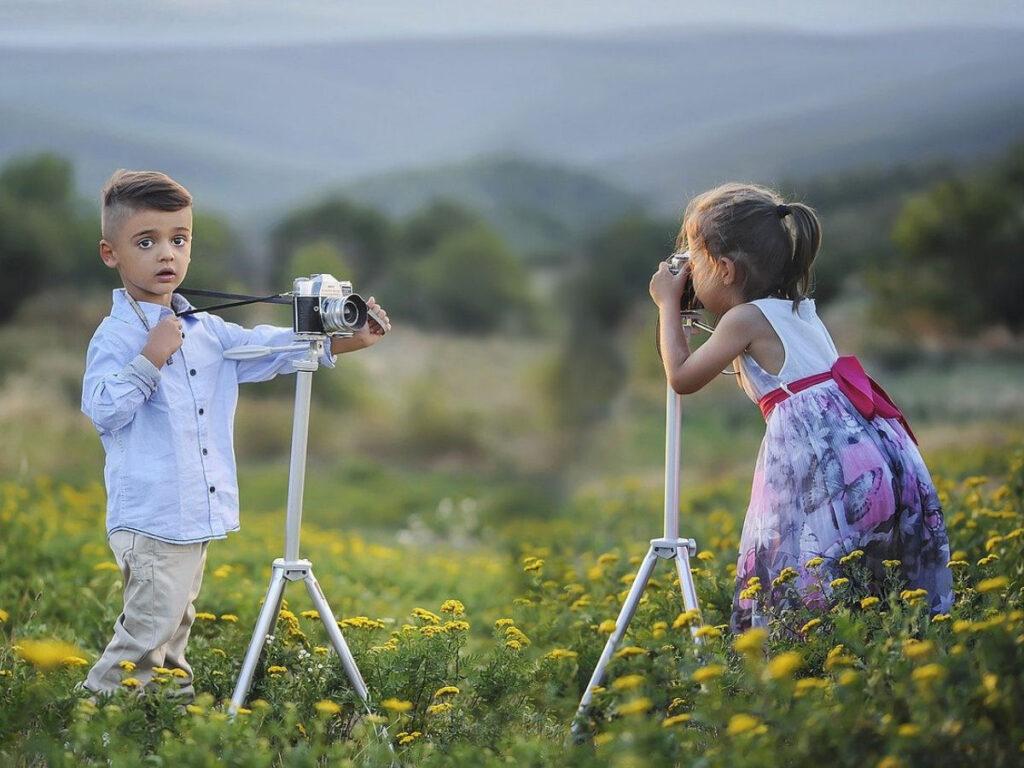 Cámaras de fotos para niños