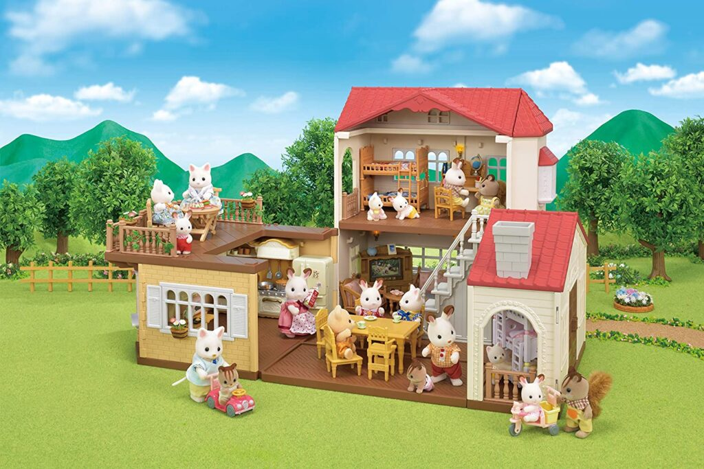 Casa de la familia Sylvanian para niñas