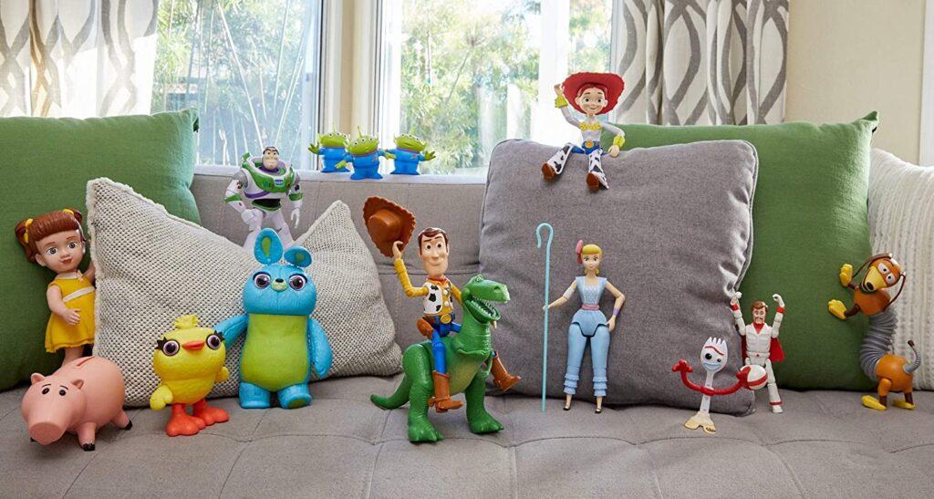 Colección de figuras de Toy Story 4