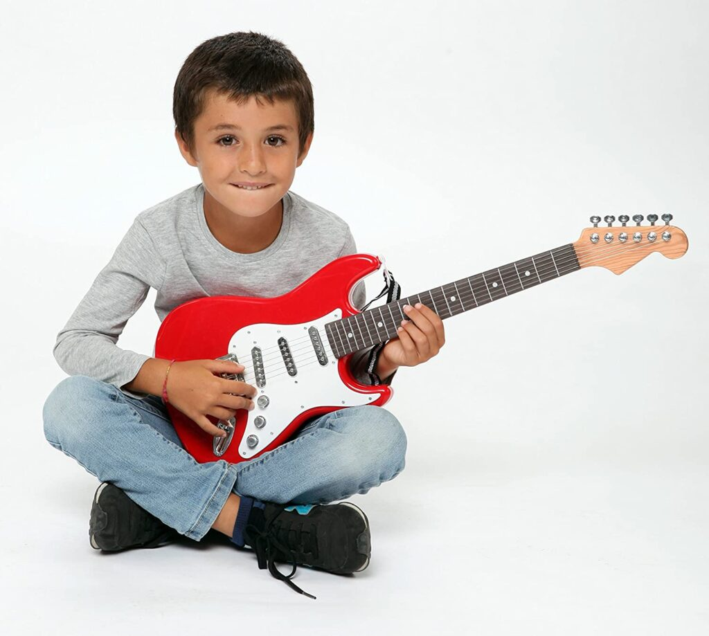 Como enseñar guitarra a niños