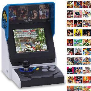 Consola arcade para niños juegos incluidos