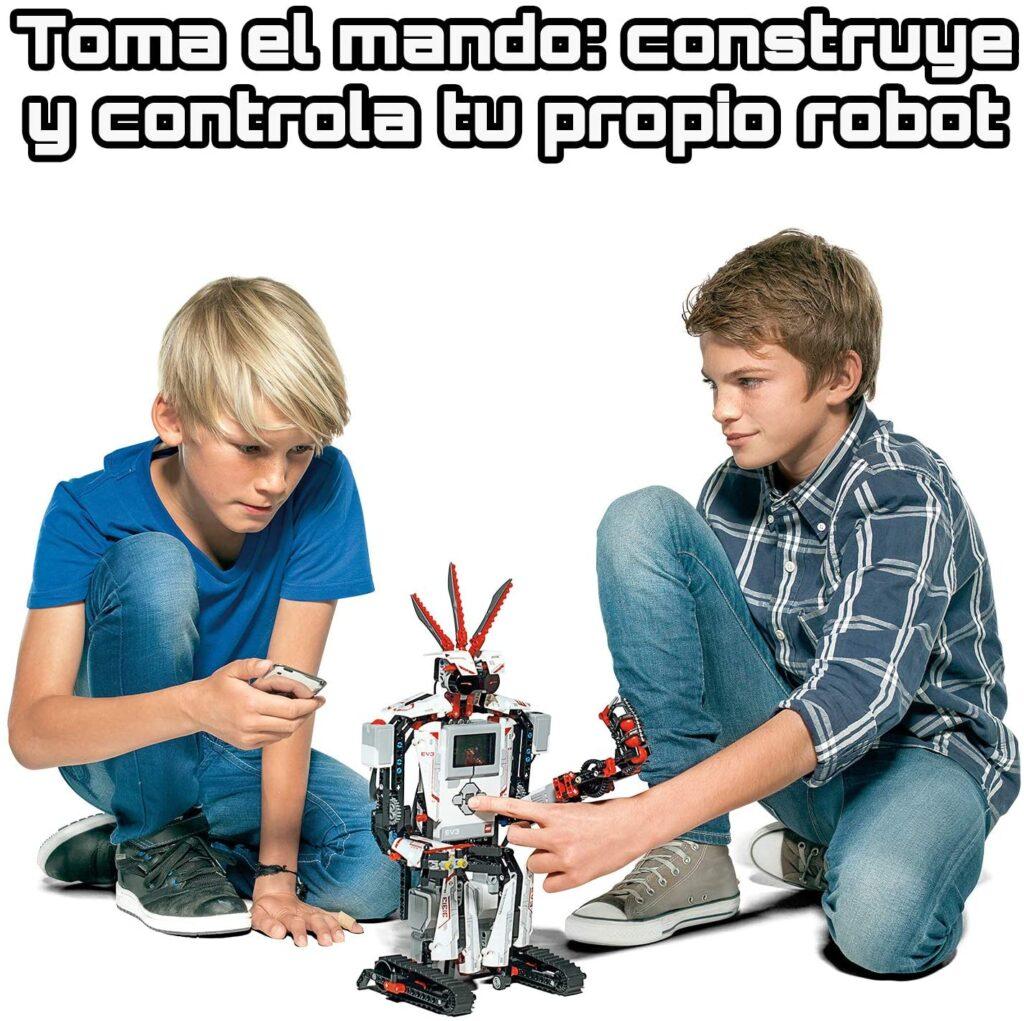 Contruye y controla tu propio robot lego