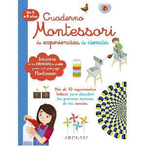 Cuaderno Montessori Ciencias, experiencias de ciencia