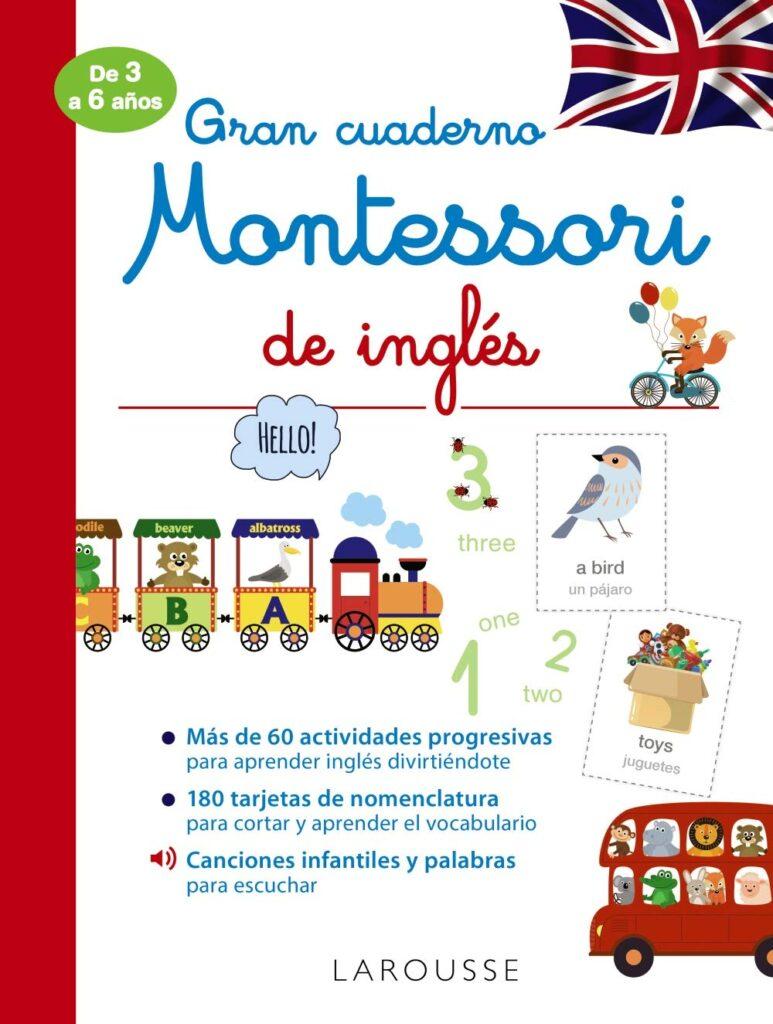 Cuaderno Montessori de inglés para niños