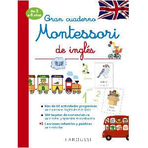Cuaderno Montessori de inglés