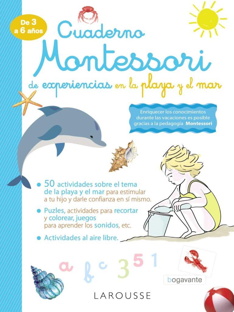 Cuaderno Montessori para niños