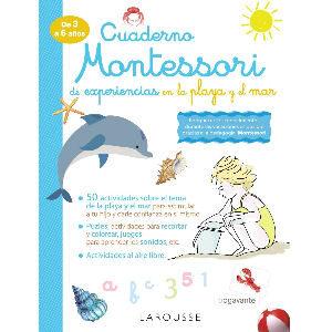 Cuaderno Montessori experiencias en la playa y el mar