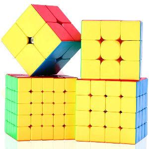 Cubos de Rubik de diferentes niveles de dificultad para ir aprendiendo, de 2x2 3x3 4x4 5x5 caras