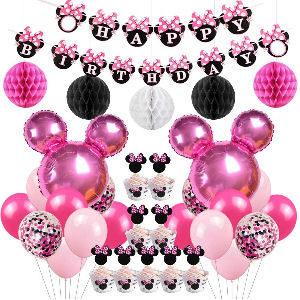 Decoración fiesta cumpleaños Minnie