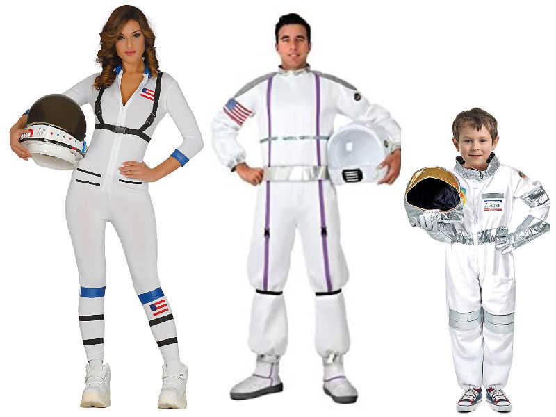 Disfraces de astronauta para familias espaciotrastornadas