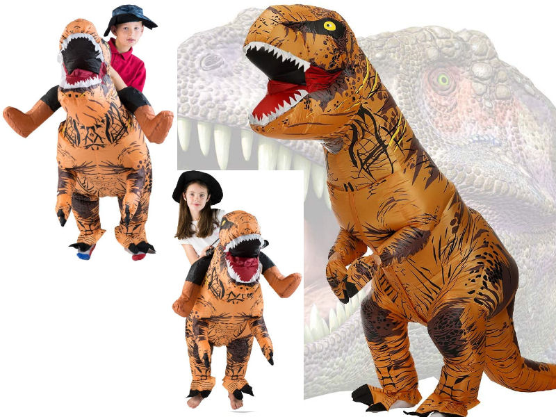 Disfraces familia dinosuarios, disfrázate con tus hijos de dinosaurios