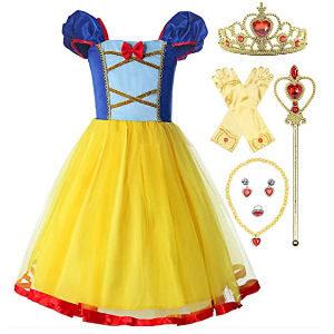 Disfraz de Blancanieves para niñas