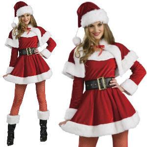 Disfraz de Mamá Noel premium