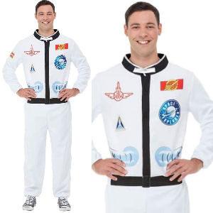 Disfraz de astronauta para el espacio para adultos
