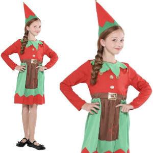 Disfraz de duende para niñas