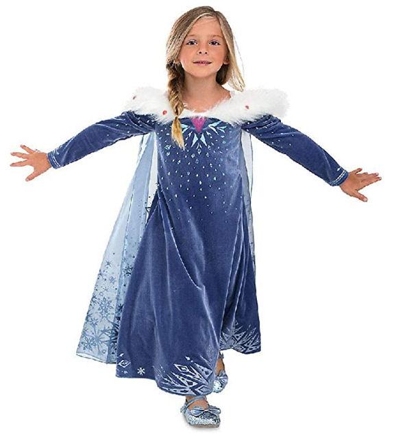 Disfraz de frozen para niñas