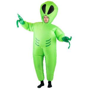 Disfraz hinchable alienígena para adultos