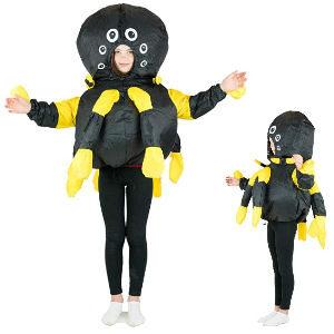 Disfraz hinchable araña para niños