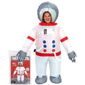 Disfraz hinchable astronauta para adultos con bomba de aire