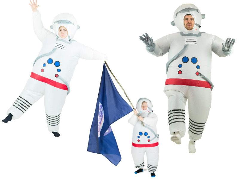 Disfraz hinchable astronauta para familias