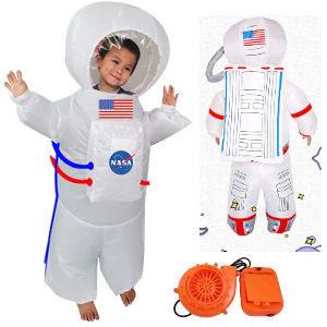 Disfraz hinchable de astronauta para niños
