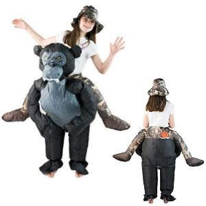 Disfraz hinchable exploradora para niñas