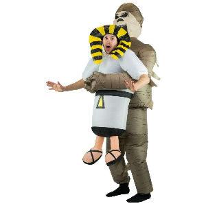 Disfraz hinchable momia egipcia para adultos
