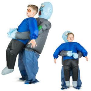 Disfraz hinchable zombie halloween para niños