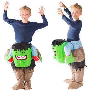 Disfraz inflable Frankestein para niños pequeños talla para niños
