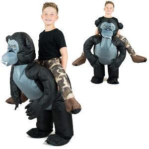 Disfraz inflable de mono para niños