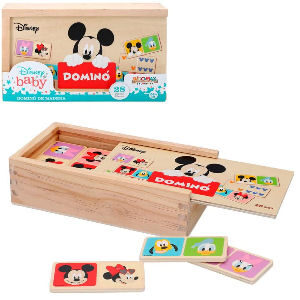 Dominó de Mickey Mouse para niños