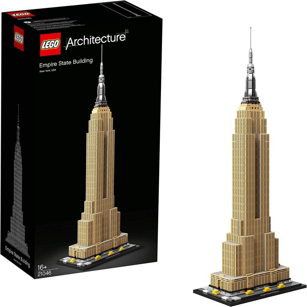 Edificio Empire State Building de LEGO para coleccionistas adultos