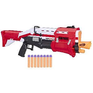 Escopeta Tactica Fortnite Nerf, dispara dardos