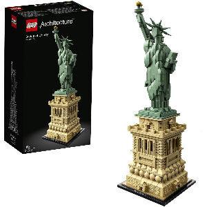 Estatua de la libertad de LEGO para coleccionistas adultos